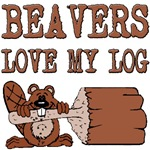 Beavers Love My Log