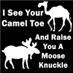 Camel Toe Vs. Moose Knuckle