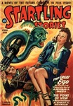 STARTLING STORIES-VINTAGE PULP MAGAZINE COVER