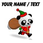 Custom Panda Santa