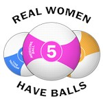 Real women have balls