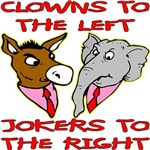 Clowns To The Left Jokers To The Right