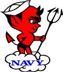 Navy Devil Tattoo