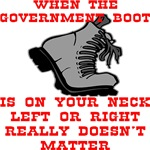 When The Government Boot Is On Your Neck