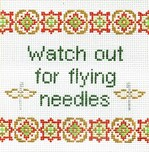 Watch Out for Flying Needles