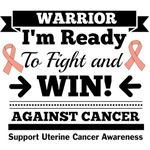 Uterine Cancer Ready To Fight and Win Shirts