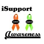 I Support Leukemia & Lymphoma Awareness T-Shirts