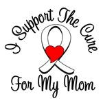 Lung Cancer Cure (Mom) T-Shirts
