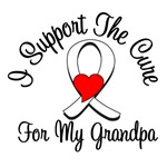 Lung Cancer Cure (Grandpa) T-Shirts
