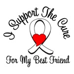 Lung Cancer Cure (Best Friend) T-Shirts & Gift