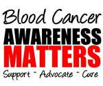 Blood Cancer Awareness Matters T-Shirts & Gifts