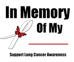 In Memory Lung Cancer T-Shirts & Gifts