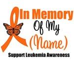 In Memory Leukemia Awareness Shirts & Gifts