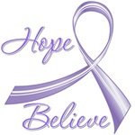 Hope Believe Hodgkin's Lymphoma Shirts and Gifts