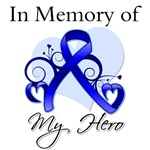 Colon Cancer In Memory of My Hero Shirts