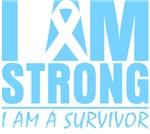 I am Strong Prostate Cancer Shirts