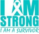 I am Strong Cervical Cancer Shirts