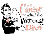Uterine Cancer Picked The Wrong Diva Shirts