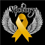 Victory Wings Appendix Cancer Shirts