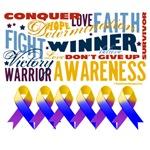 Empowering Words Bladder Cancer Shirts