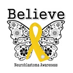 Believe - Neuroblastoma Shirts and Gifts