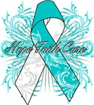 Cervical Cancer Flourish Shirts and Gifts
