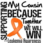 Supporting My Cousin Leukemia Shirts and Gifts