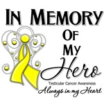 In Memory of My Hero Testicular Cancer Shirts