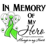 In Memory of My Hero Non-Hodgkin Lymphoma Shirts