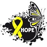 Hope Grunge Butterfly Ewing Sarcoma Shirts