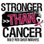 Head Neck Cancer Stronger than Cancer Shirts