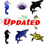 Fish, Marine Life, & Reef Creatures