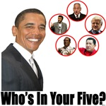 Who's in your five?