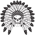 Skull Indian Chief