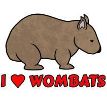 I Heart Wombats