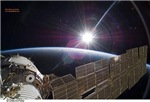 Sunisthefuture-Sun Seen From Space Station
