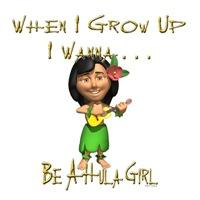 WIGU Hula Girl