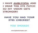 I Have Amblyopia