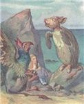 Alice meets Gryphon & Mock Turtle