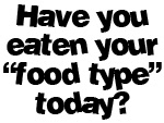 Have you eaten your food today?