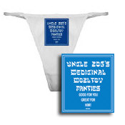 Uncle Zog's Medicinal Mozltov! Panties