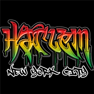 Harlem Graffiti T-shirts and Apparel