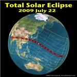 2009 Total Solar Eclipse (design 1)