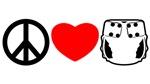 Peace, Love, Cloth