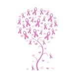 Pink Ribbon Breast Cancer Tree