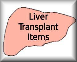 Liver Transplant Items