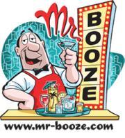 Mr. Booze Behind the Bar