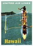 Vintage United Waikiki Poster