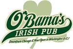 Obama's Irish Pub Logo Design