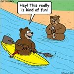 Bear Kayaking